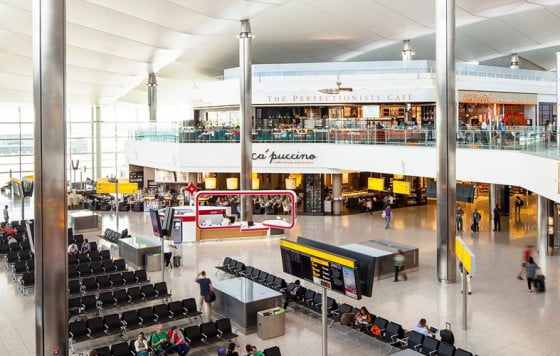 Heathrow – Terminal 3 Departures – Concourse